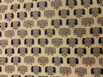 ELEPHANT FUN - ANIMALS JUNGLE GREY - Fabric 100% Cotton - Price Per Metre